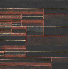 """""""Au cours des six seuils actuels"""", 1929 de Paul Klee (1879-1940, Switzerland)"""