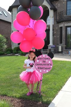 """Photo 1 of 34: Minnie Mouse / Birthday """"Charlotte's 5th Birthday - Minnie Mouse Extravaganza!!"""""""