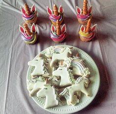 Unicorn Cookies ad Cupcake tutorial