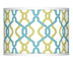 The shade is printed giclee style and is custom made-to-order. The correct size harp and matching finial are included free with this shade. Patent # Custom-made print giclee style drum lamp shade. Pattern Art, Pattern Design, Glow Lamp, Green Lamp Shade, Custom Lamp Shades, Designer Shades, Floral Theme, Chrome Finish, Lighting