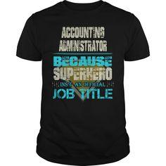 Accounting administrator - Tshirt