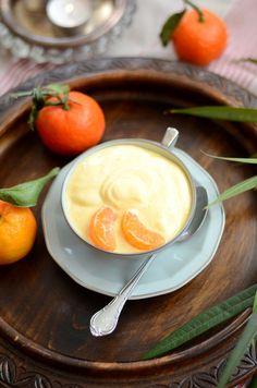 Yaourt glacé à la mangue et clémentine {recette de dessert rapide et sans gluten}
