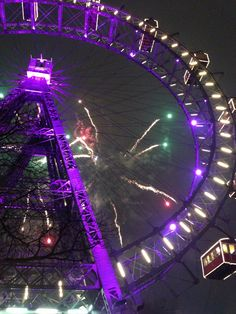 Riesenrad, Giant Wheel at New Year / Vienna Vienna, Ferris Wheel, Places To See, The Good Place, Fair Grounds, Travel, Voyage, Viajes, Traveling