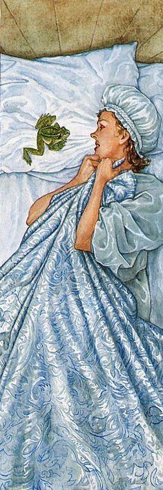 O Tapete Vermelho da Imagem: Images' Red Carpet: A Princesa e o Sapo pela ilustração de P. J. Lynch...