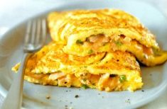 Preparing a stuffed omelette with smoked salmon is a very speedy way to serve a quick and tasty breakfast. Description from fussfreerecipes.com. I searched for this on bing.com/images