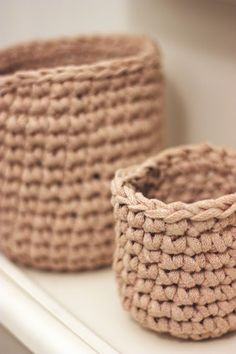 Sort of pink.: Baskets, baskets.