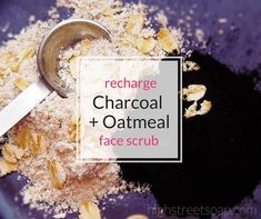 Take a moment for yourself and try this spa recipe Charcoal Face Scrub that will have you and your skin feeling refreshed and recharged. All natural DIY.