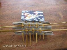 Splot bochonochek master class z wkładkami papieru Słomki zdjęcie 8