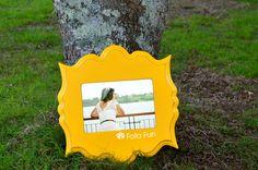 June Buttercup Organic Bloom frame, from P´s Foto Fun