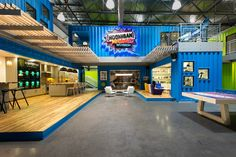 TOP 10 shipping container structures of 2013 -  hoonigan racing division headquarters
