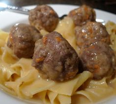 Slow cooker Meatballs and Marinara | Yum | Pinterest