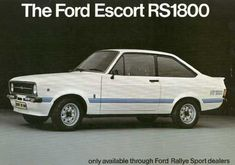 "1975 Ford Escort Along with the amusingly, this states ""only available through Rallye Sport dealers"" . which was the majority of them Classic Cars British, British Sports Cars, Ford Classic Cars, Ford Rs, Car Ford, Carros Suv, Ford Motorsport, Car Brochure, Classic Motors"