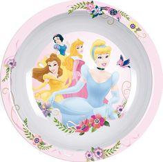 Syvä lautanen, Prinsessat    Prinsessat sarjan kuosissa on tutut prinsessat rakastetuista saduista.     Prinsessat syvä lautanen on valmistettu melamiinista ja sen voi turvallisesti pestä astianpesukoneessa.