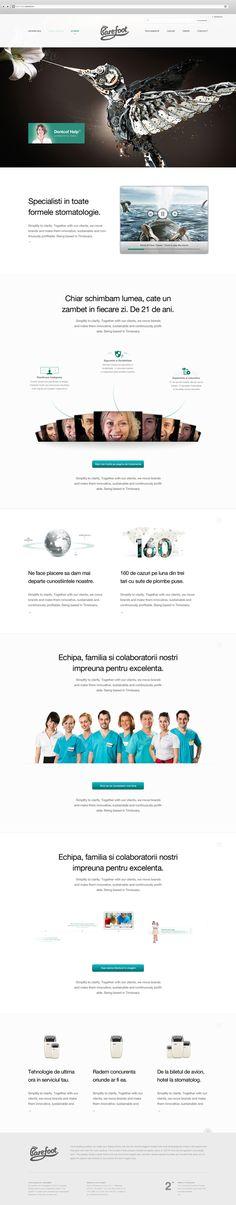 Dentcof redesign by Rus Adrian Ewald, via Behance