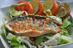 Salata thailandeza cu peste - cum se face. Preparate thailandeze. Retete exotice cu peste si fructe de mare. Retete picante.