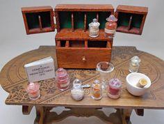 Dolls house miniature handmade Wing door by ValHarperMiniatures