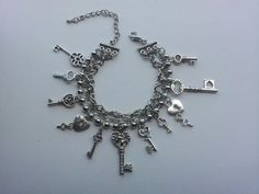 key charms bracelet