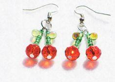 Pretty chery earrings  https://www.etsy.com/uk/listing/232457064/cherry-earrings-red-earrings-kitsch