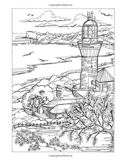 amazoncom creative haven summer scenes coloring book adult coloring 9780486809335