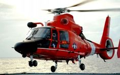 HH-65C Dolphin Helicopter HD Wallpaper