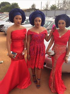 When it comes to Aso-Ebi, let your individualism out.