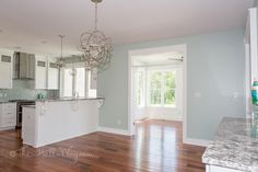 Southern Living Eastover Cottage - Dining Room Sherwin Williams Copen Blue