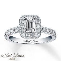 Kay - Neil Lane Bridal 1-3/8 ct tw Diamond Ring 14K White Gold