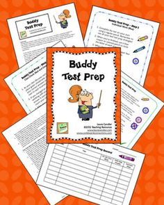 FREE Buddy Test Prep Activity makes test prep fun! Complete step-by-step directions included. This freebie has been downloaded from TpT over 35,000 times!