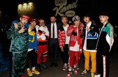 "Korean boy band BTS performed before their US fans in an off-air segment of the ""Jimmy Kimmel Live!"" talk show on November 30."