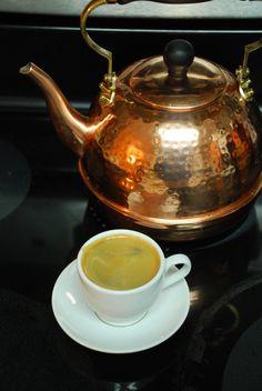 Copper kettle, crema di caffe