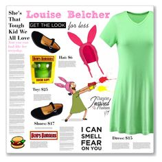 Louise Belcher Outfit: Bob's Burgers #bobsburgers, #louisebelcher  #CharacterInspiredFashion #teenfashion #womensfashion
