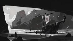 Captain Markhor's Cove, Andrew Porter on ArtStation at https://www.artstation.com/artwork/1BlLo