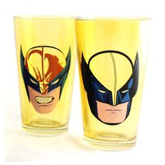 Wolverine Face Tumbler Set Of 2, $15, now featured on Fab.