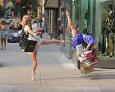 Dance...like everyone Is watching! Flash mob ballerinas <3