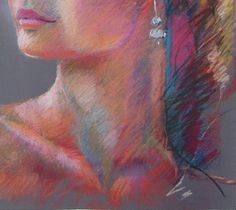pastel techniques | Figures...My Art and My Life: Pastel Portrait Drawing from the Live ...