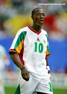 Khalilou Fadiga - Senegal - FIFA Coupe du Monde 2002 (France, Danemark)