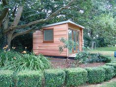 Home Garden Office built in the UK by Garden Lodges. www.gardenlodges.co.uk