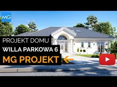 Dom nawiązuje stylistycznie do House Plans Mansion, My House Plans, Bungalow House Design, Modern House Design, House Extension Design, Best Architects, House Extensions, Facade House, My Dream Home