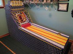 Operational Skeeball Machine Made From LEGO Knex!!!