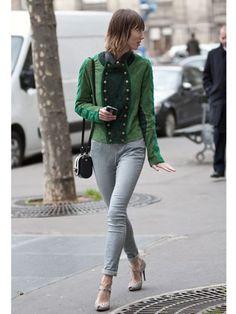 Paris F/W12 Street Style