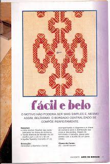 Fazer Mais Fácil: Revista: ARTE DE BORDAR VAGONITE Nº25 - ED ESCALA