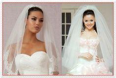 Frisuren für Brautschleier