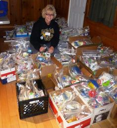 Homeless blessing bags are an awesome community or church project