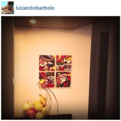Miniquadros personalizados do @luizandrebartholo