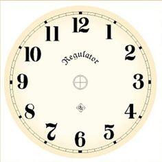 Циферблат своими руками | Старинные часы