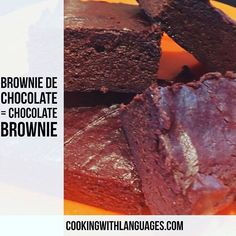 """We make #languagelearning fun! Search Amazon for """"Cooking With Languages"""" our newly published English/Spanish activity cookbook for children  #aprenderingles #aprenderespañol #learnspanish #learnenglish #mfl #bilingual #cookingwithlanguages #cooking4kids #language #ahamijas #easyrecipe #chocolate #brownie #avocado #aguacate #browniedechocolate http://ift.tt/24E6k4a"""
