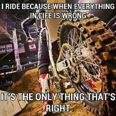 The 50 All Time Funny Biker Quotes and Sayings - Custom Motorcycles & Classic Motorcycles - BikeGlam Motocross Quotes, Dirt Bike Quotes, Biker Quotes, Motorcycle Quotes, Ninja Motorcycle, Motocross Girls, Ride Out, My Ride, Riding Quotes