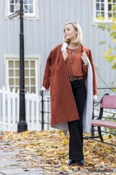 Уличный стиль: яркая осень в модных блогах