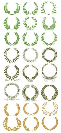 月桂冠,リース ベクターイラスト素材 Spartanischer Helm, Wreath Tattoo, Dibujos Tattoo, Anniversary Logo, Luxury Logo, Logo Design, Graphic Design, Laurel Wreath, Wedding Logos