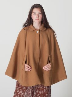 American Apparel - The Wool Cape $170.00 - if only it came in pink~! ;)